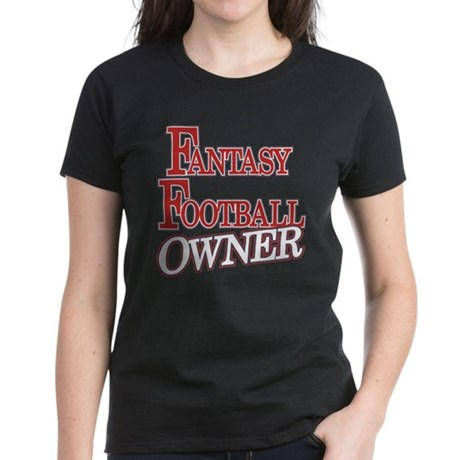 Fantasy Football Owner Women's Dark T-Shirt