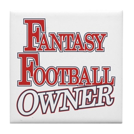 Fantasy Football Owner Tile Coaster