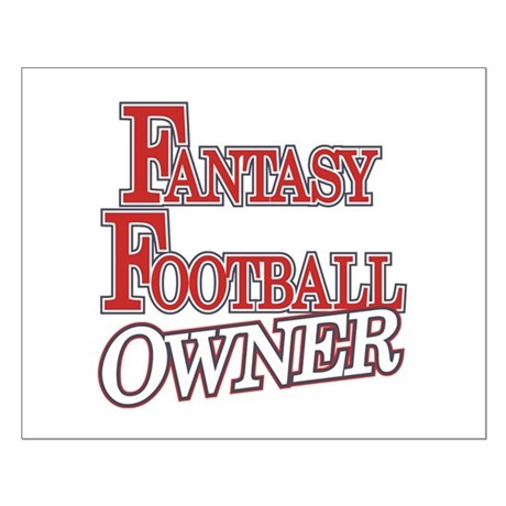 Fantasy Football Owner Small Poster