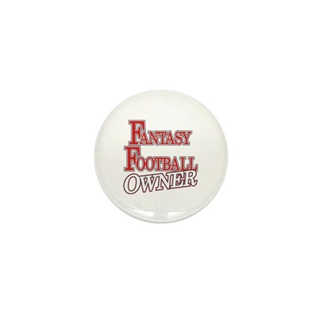 Fantasy Football Owner Mini Button (10 pack)