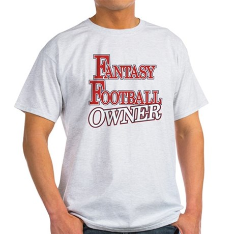 Fantasy Football Owner Light T-Shirt