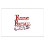Fantasy Football Owner Large Poster