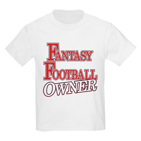 Fantasy Football Owner Kids Light T-Shirt