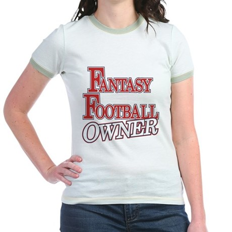 Fantasy Football Owner Jr. Ringer T-Shirt