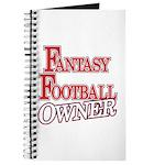 Fantasy Football Owner Journal