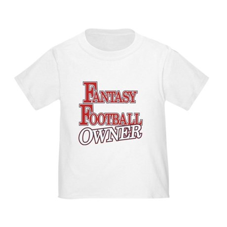 Fantasy Football Owner Toddler T-Shirt