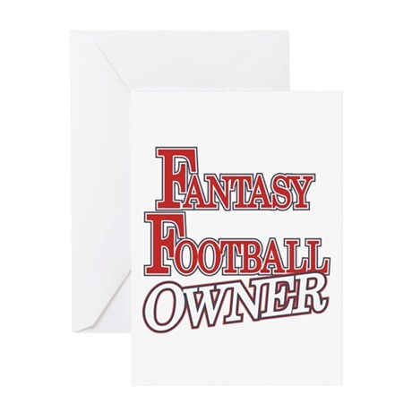 Fantasy Football Owner Greeting Card