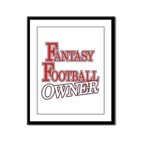 Fantasy Football Owner Framed Panel Print