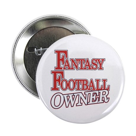 """Fantasy Football Owner 2.25"""" Button (100 pack)"""