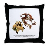 Norm and Cory Throw Pillow