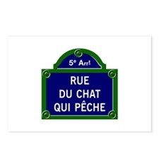 Rue du Chat qui Pêche, Paris - France Postcards (P