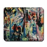 &quot;Disturbed Graffiti&quot; Mousepad