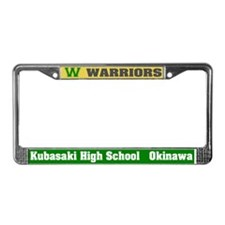 KHS Warriors License Plate Frame