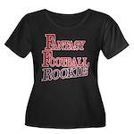 Fantasy Football Rookie Women's Plus Size Scoop Ne
