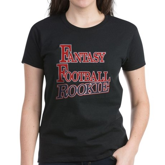 Fantasy Football Rookie Women's Dark T-Shirt