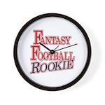 Fantasy Football Rookie Wall Clock
