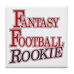 Fantasy Football Rookie Tile Coaster
