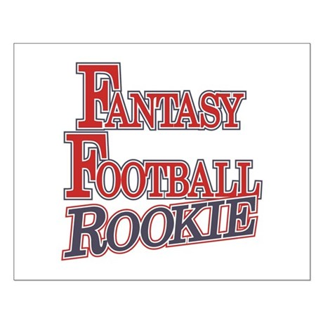 Fantasy Football Rookie Small Poster