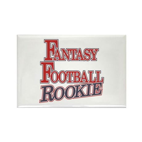 Fantasy Football Rookie Rectangle Magnet (10 pack)