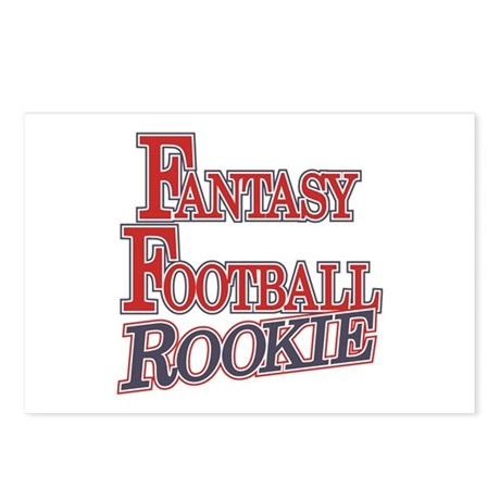 Fantasy Football Rookie Postcards (Package of 8)
