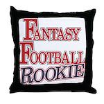 Fantasy Football Rookie Throw Pillow