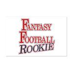 Fantasy Football Rookie Mini Poster Print