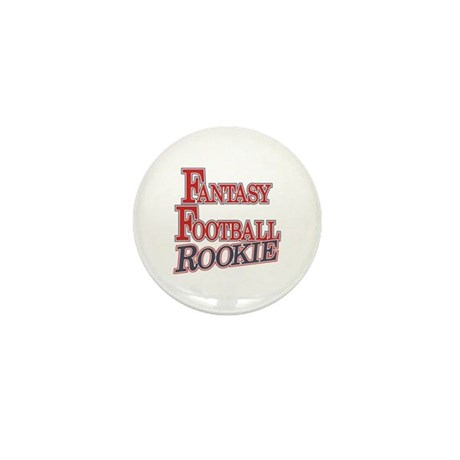 Fantasy Football Rookie Mini Button (10 pack)