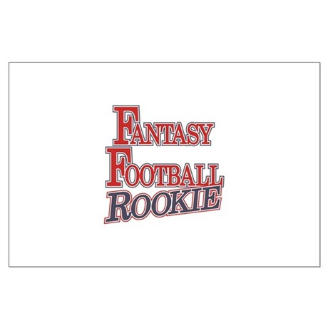 Fantasy Football Rookie Large Poster