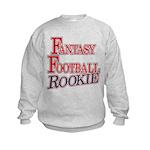Fantasy Football Rookie Kids Sweatshirt