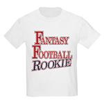 Fantasy Football Rookie Kids Light T-Shirt
