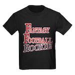 Fantasy Football Rookie Kids Dark T-Shirt