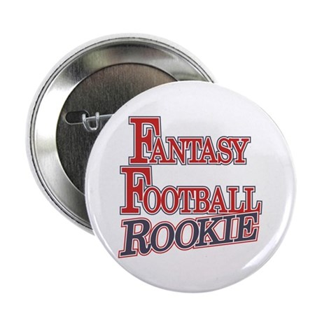"Fantasy Football Rookie 2.25"" Button (10 pack)"