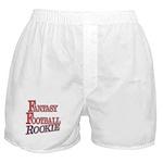 Fantasy Football Rookie Boxer Shorts