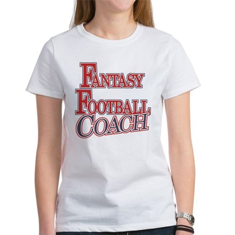 Fantasy Football Coach Women's T-Shirt