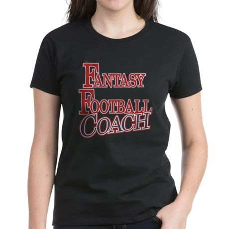 Fantasy Football Coach Women's Dark T-Shirt