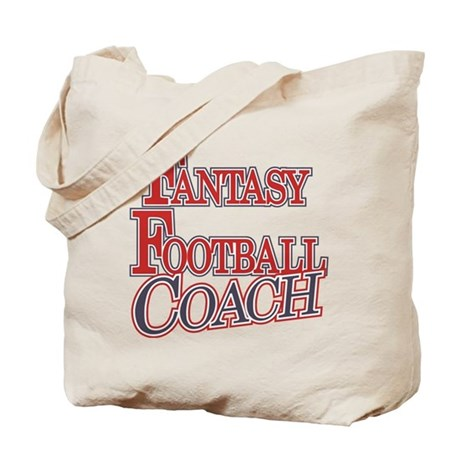 Fantasy Football Coach Tote Bag