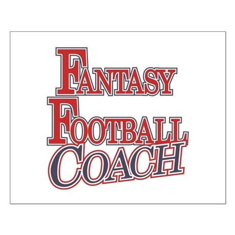 Fantasy Football Coach Small Poster