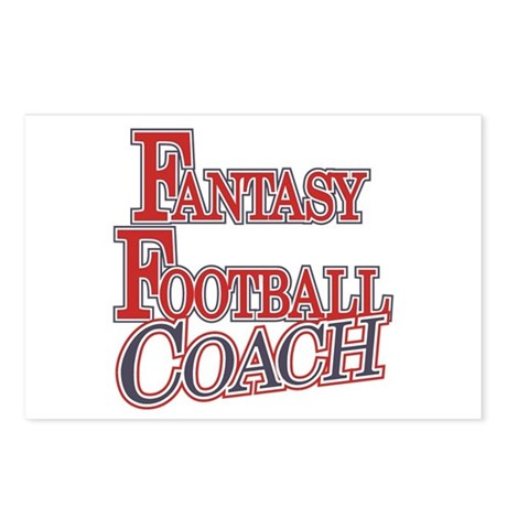 Fantasy Football Coach Postcards (Package of 8)