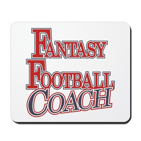 Fantasy Football Coach Mousepad