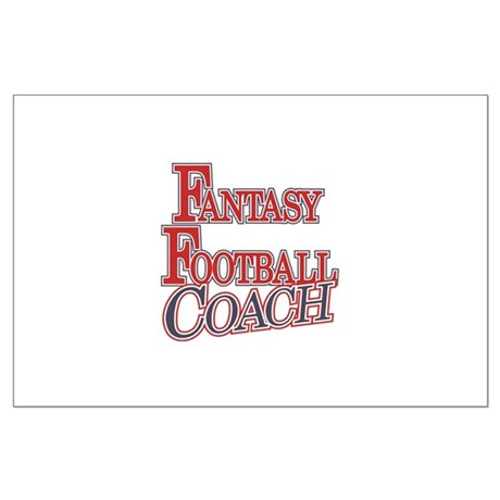 Fantasy Football Coach Large Poster