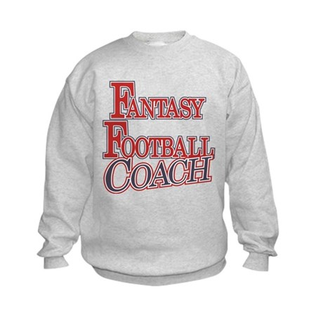 Fantasy Football Coach Kids Sweatshirt
