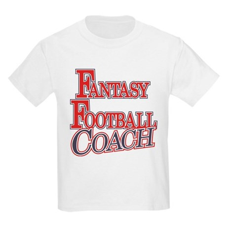 Fantasy Football Coach Kids Light T-Shirt