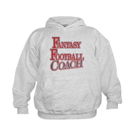 Fantasy Football Coach Kids Hoodie