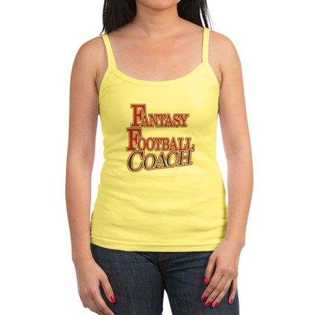 Fantasy Football Coach Jr. Spaghetti Tank