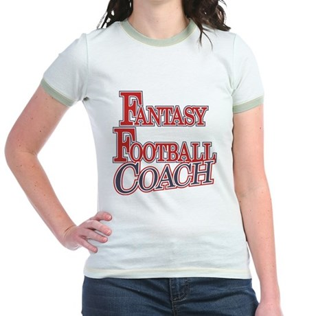 Fantasy Football Coach Jr. Ringer T-Shirt