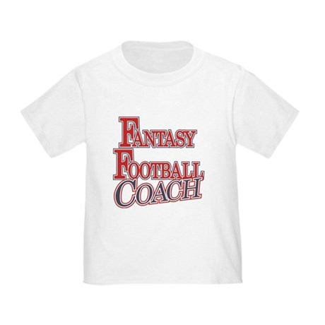 Fantasy Football Coach Toddler T-Shirt
