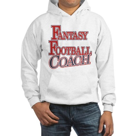 Fantasy Football Coach Hooded Sweatshirt