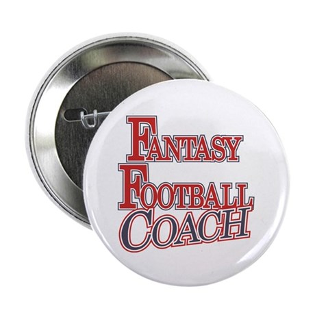 "Fantasy Football Coach 2.25"" Button (10 pack)"