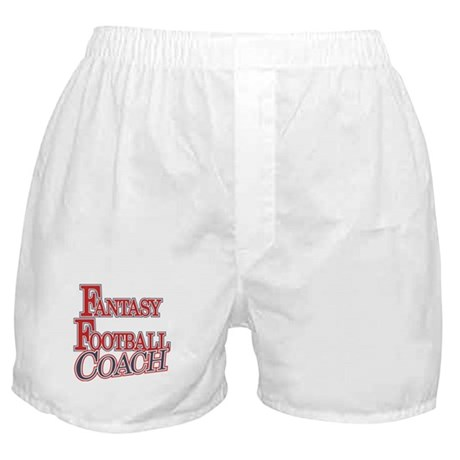 Fantasy Football Coach Boxer Shorts