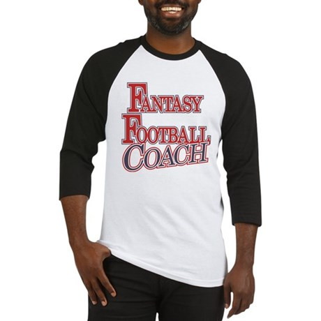 Fantasy Football Coach Baseball Jersey